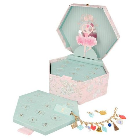 Ballerina Charm Advent Calendar from the Meri Meri Holiday Christmas Collection