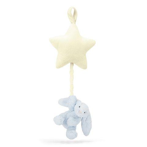 Gioco musicale Bashful Blue Bunny Star di Jellycat :: Baby Bottega