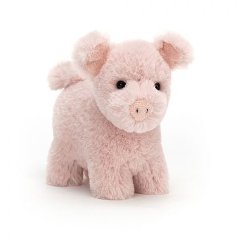 Diddle Pig, a soft toy from Jellycat :: Baby Bottega