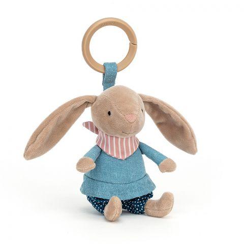 Little Rambler Bunny Rattle from Jellycat :: Baby Bottega