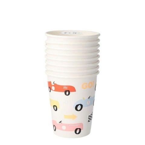 Race Car Bicchieri da Meri Meri :: Baby Bottega