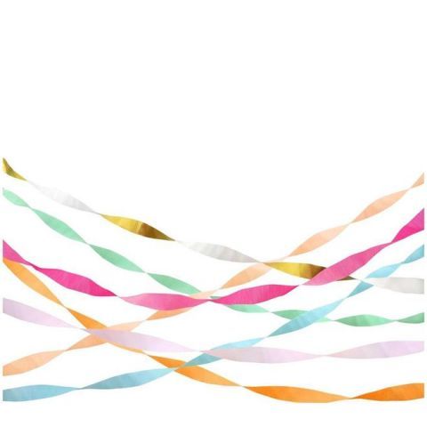 Bright Crepe Paper Streamers from Meri Meri :: Baby Bottega