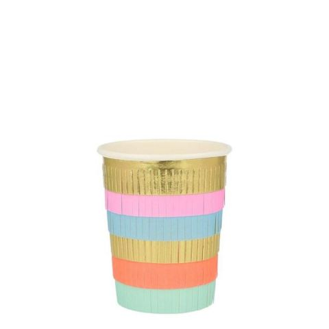 Circus Fringe Party Cups from Meri Meri :: Baby Bottega
