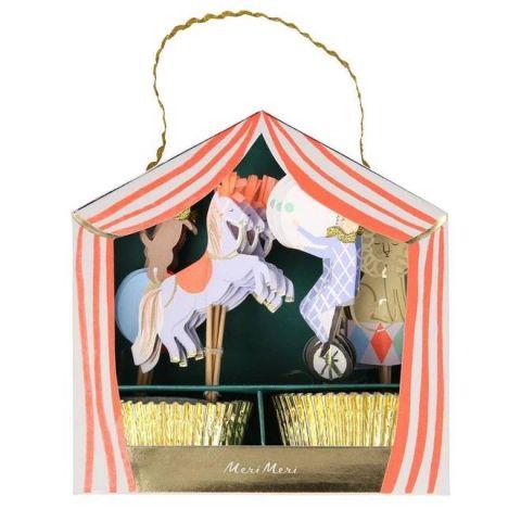 Circus Parade Cupcake Kit from Meri Meri :: Baby Bottega