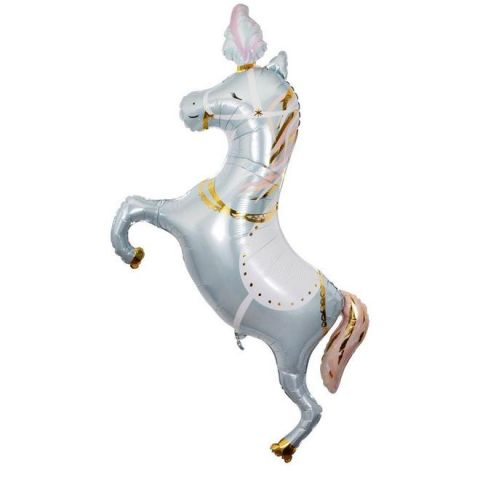 Circus Stallion Foil Balloon from Meri Meri :: Baby Bottega party supplies