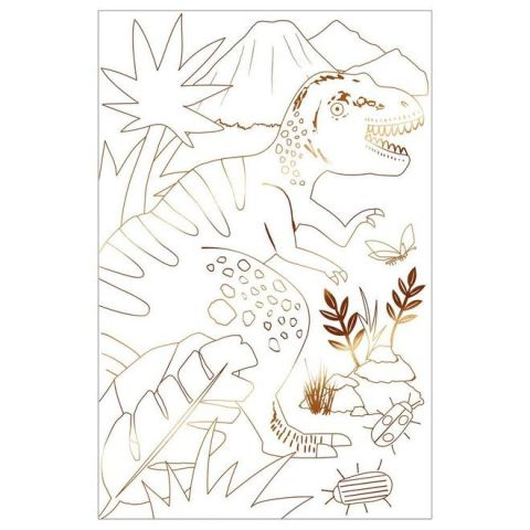 Dinosaur Kingdom Colouring Posters from Meri Meri :: Baby Bottega