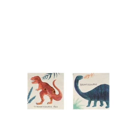 Dinosaur Kingdom Tovagliolini di Meri Meri :: Baby Bottega