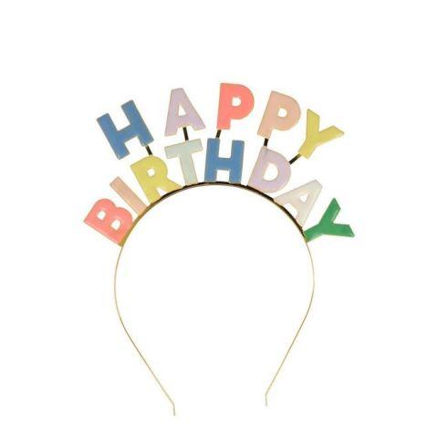 Birthday Cerchietto per Capelli Smaltato di Meri Meri :: Baby Bottega