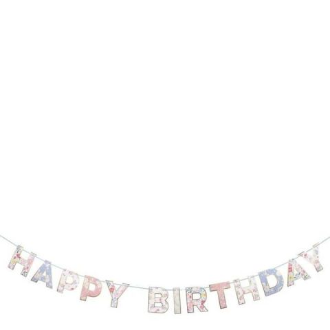English Garden Birthday Garland from Meri Meri :: Baby Bottega
