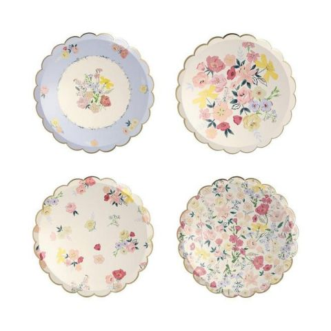 English Garden Dinner Plates from Meri Meri :: Baby Bottega