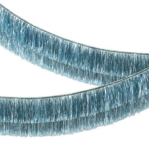 Blue Tinsel Fringe Garland from Meri Meri :: Baby Bottega