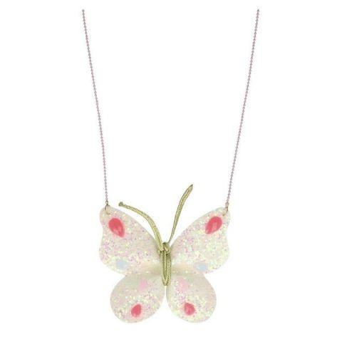Glitter Butterfly Necklace from Meri Meri :: Baby Bottega Gift Ideas