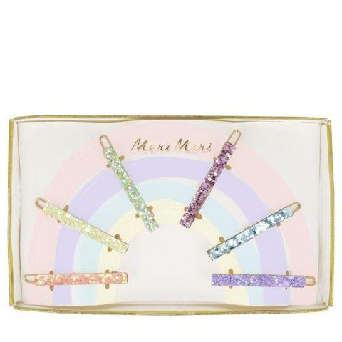 Fermagli per capelli, arcobaleno da Meri Meri ::  Baby Bottega accessori per capelli