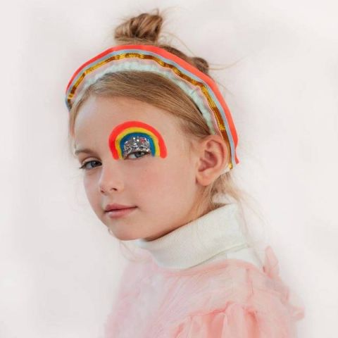 Passata con volant arcobaleno di Meri Meri :: Baby Bottega