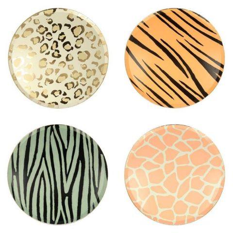 Safari Animal Print Dinner Plates from Meri Meri :: Baby Bottega