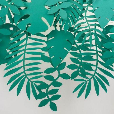 Green Foliage Large Garland from Meri Meri :: Baby Bottega Party Supplies