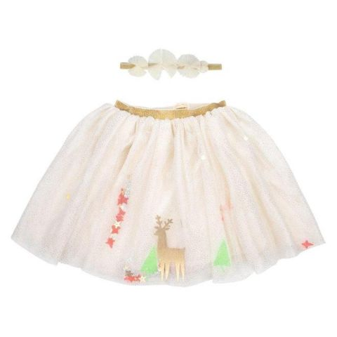 Reindeer ShakReindeer Shaker Tutu & Headband from the Meri Meri Holiday Christmas Collectioner Tutu & Headband from the Meri Meri Holiday Christmas Collection