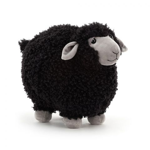 Rolbie Black Sheep, a soft toy from Jellycat :: Baby Bottega