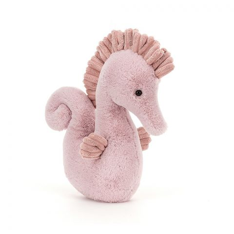 Sienna Seahorse, a soft toy from Jellycat :: Baby Bottega