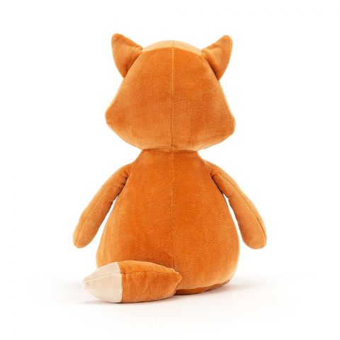 Sleepee Fox, a soft toy for newborns, from Jellycat :: Baby Bottega