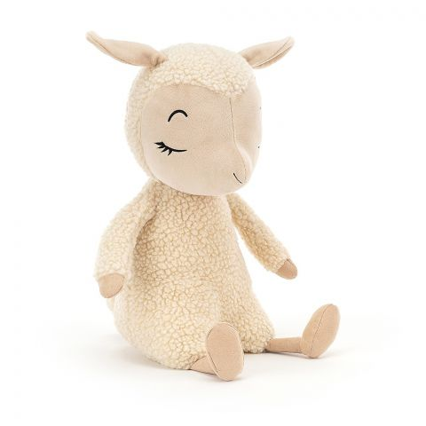 Sleepee Lamb, a soft toy for newborns from Jellycat :: Baby Bottega