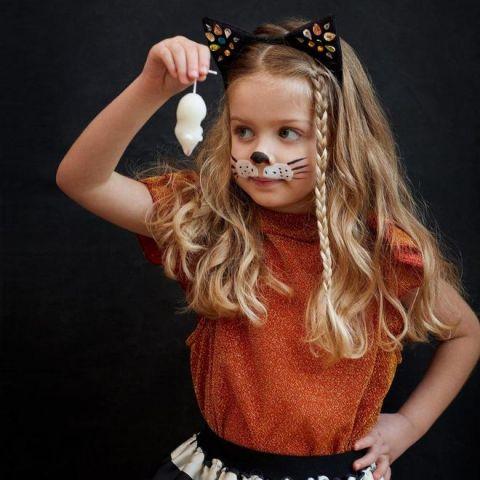 Sparkle Cat Ear Headband from Meri Meri dress-up fun :: Available at Baby Bottega