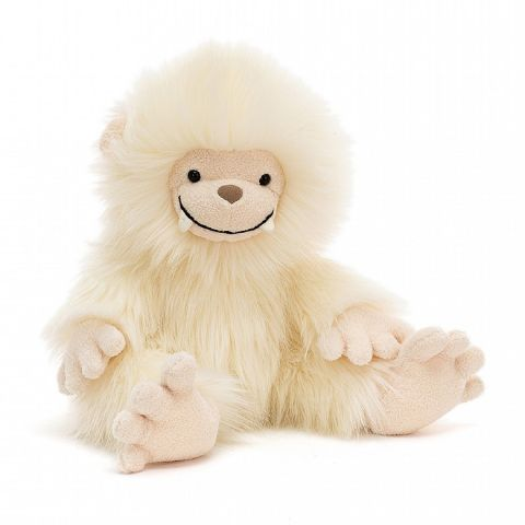 Yani Yeti soft toy from Jellycat :: Available at Baby Bottega