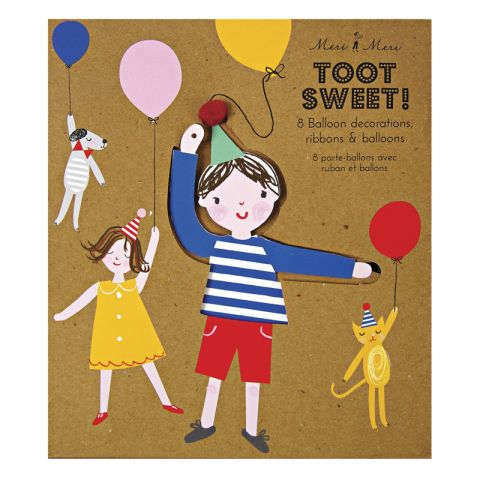Toot Sweet Balloon Holders