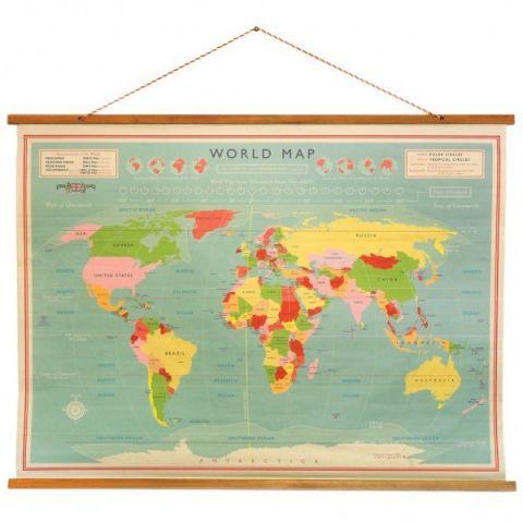 Mappamondo Vintage di Rex :: acquista su Baby Bottega