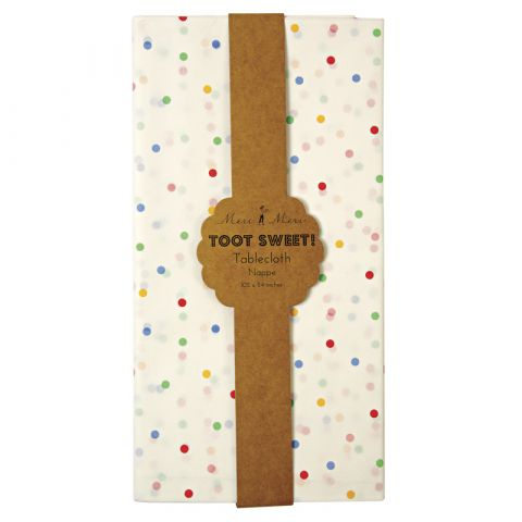 Toot Sweet Spotty Tablecloth