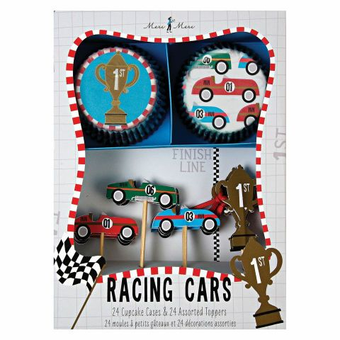 Racing Car Cupcake Kit