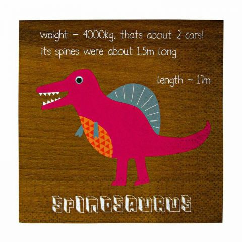 Dinosaur party napkins from Meri Meri :: Baby Bottega