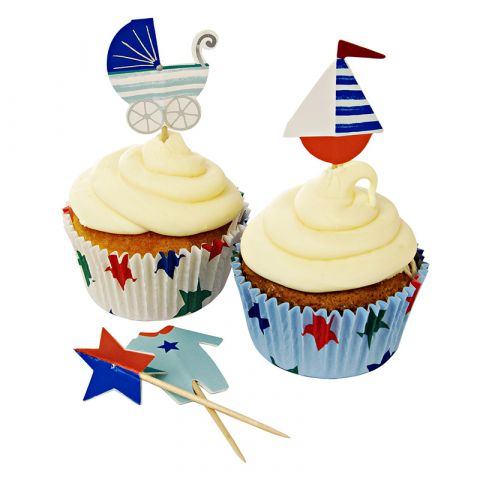 Set per Cupcakes Baby Boy Shop