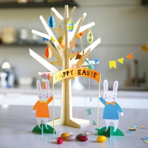 Centrotavola Pasqua Hop Hooray