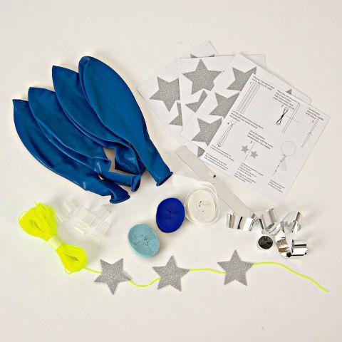 Toot Sweet Blue Balloon Kit