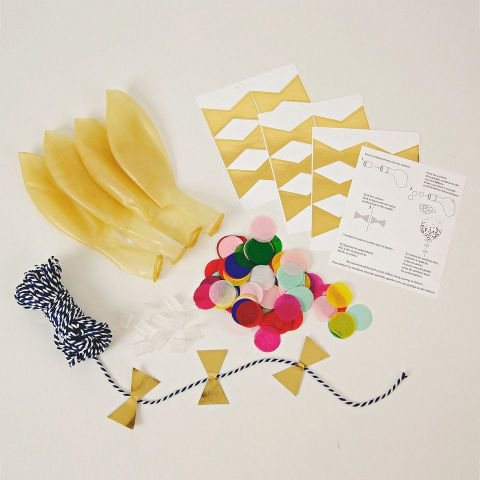 Toot Sweet Confetti Balloon Kit