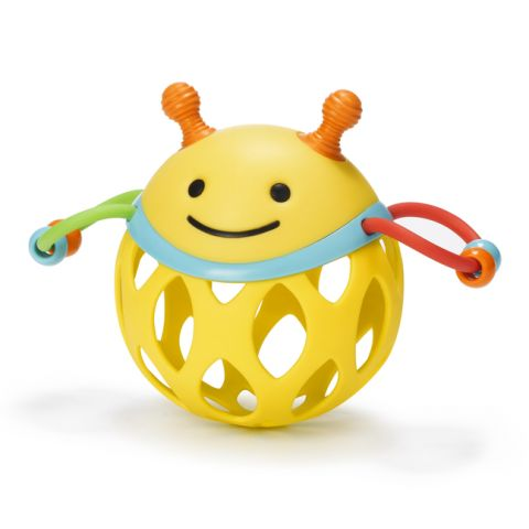 Bee Roll Around Rattle