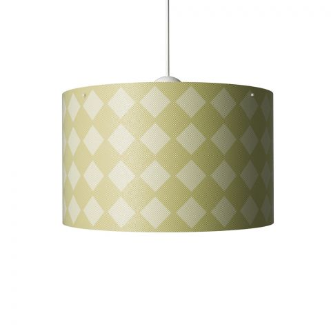 Diamonds Hanging Lamp Mustard