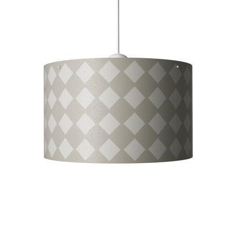 Diamonds Hanging Lamp Grey