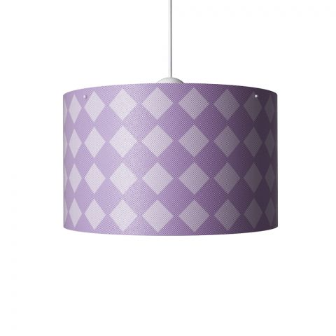 Diamonds Hanging Lamp Violet