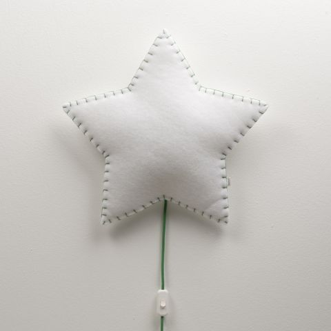 Applique Soft Light Stella Verde