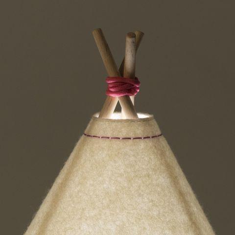 Lampada da Tavolo Teepee Rosa