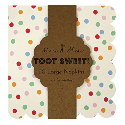 Large Toot Sweet Spotty Plates