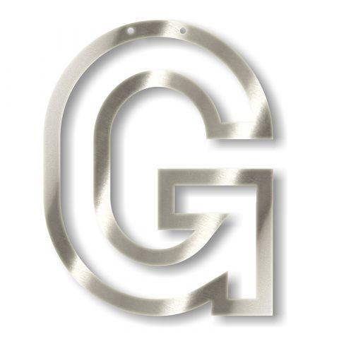 Silver G Acrylic Bunting from Meri Meri :: Baby Bottega