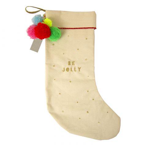 Calza di Natale Pom-Pom