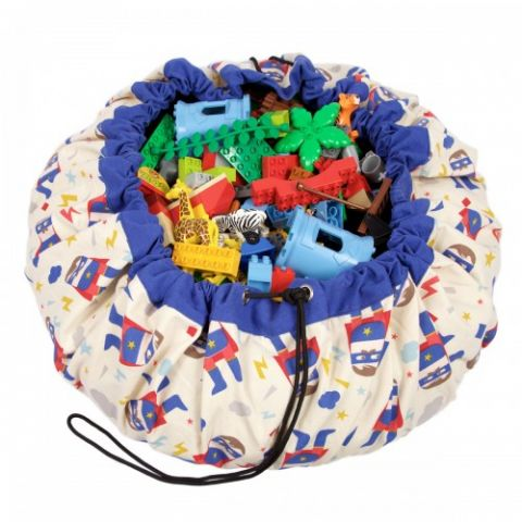 Superhero Toy Bag