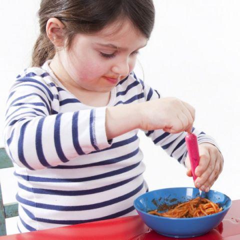 Spaghetti Pink Fork