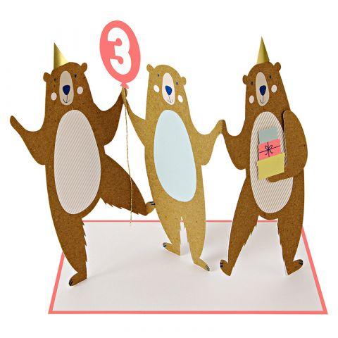 Three Bears Third Birthday