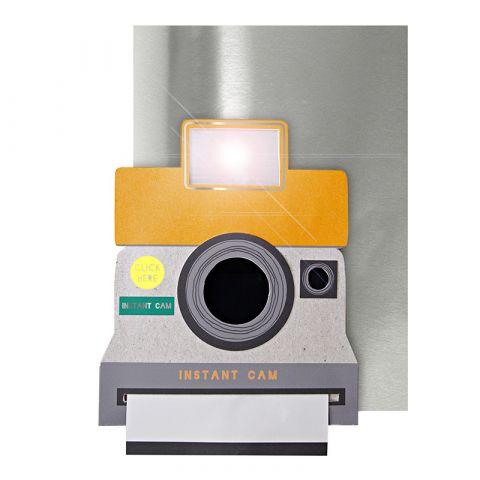 Camera Light Up Card