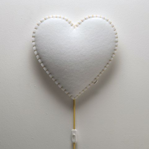 Heart Soft Light Wall Lamp